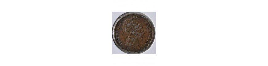 Medio Centavo 1843-1863