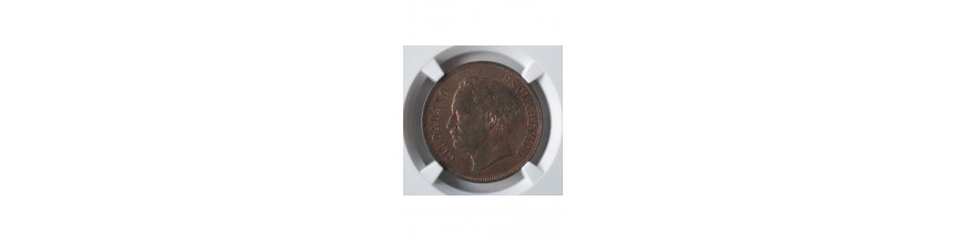 2 Centavos 1843-1863