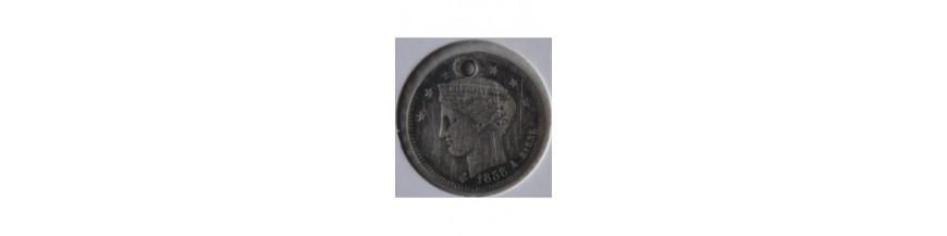 Medio Real 1843-1863