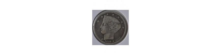 2 Reales 1843-1863