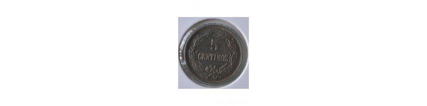 5 Centimos 1879-1999