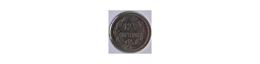 12 Medios Centimos 1879-1999