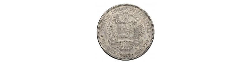 5 Bolivares 1879-1999