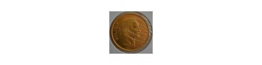 100 Bolivares 1879-1999