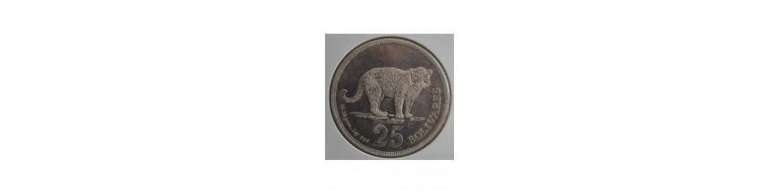 25 Bolivares 1879-1999