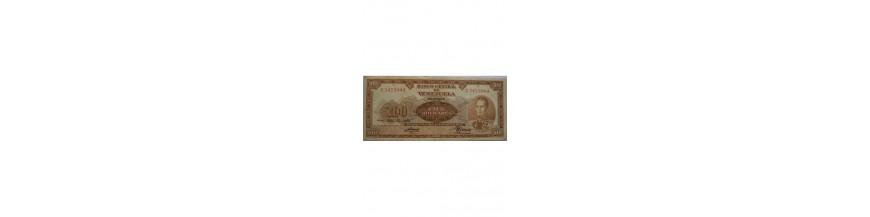 100 Bolívares Tipo B