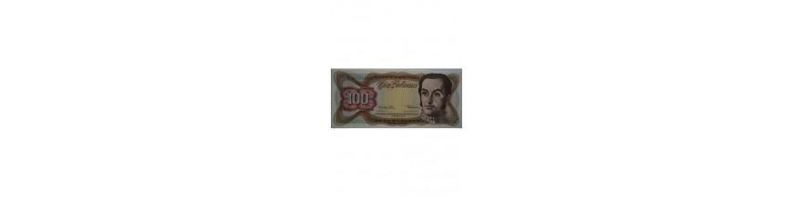 100 Bolívares Tipo F
