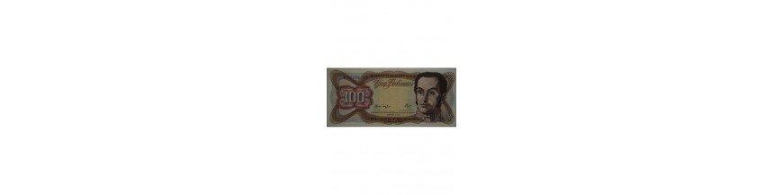 100 Bolívares Tipo H