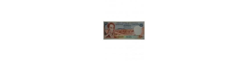 500 Bolívares Tipo E