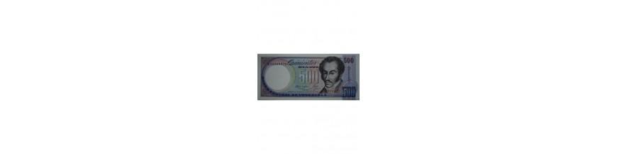 500 Bolívares Tipo F