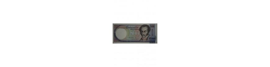 500 Bolívares Tipo G
