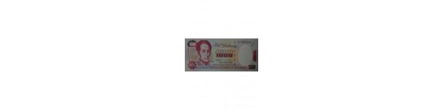 1000 Bolívares Tipo B