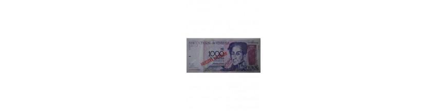 1000 Bolívares Tipo E