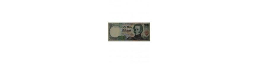 Billete 2000 Bolívares