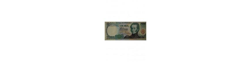 2000 Bolívares Tipo A