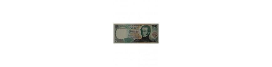 2000 Bolívares Tipo B