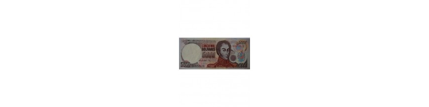 5000 Bolívares Tipo C