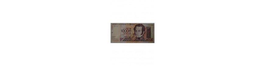 Billetes 10000 Bolívares