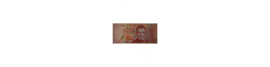 Billetes 50000 Bolívares