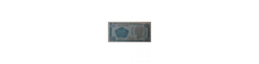 Billetes 2 Bolívar
